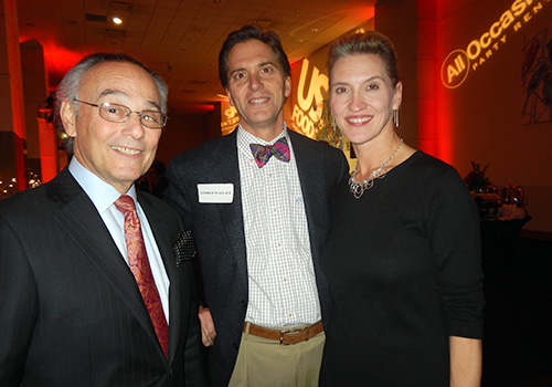 Nick Cazana, City Councilman George Wallace and Convention Center General Manager Mary Bogert.