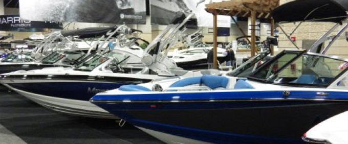 Downtown Knoxville Boat Show docks at Convention Center