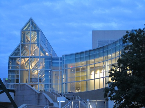 convention-center-at-sunset