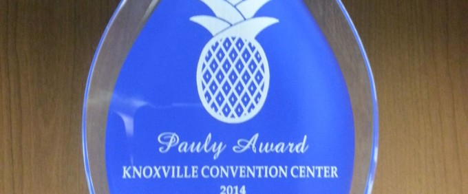 Knoxville Convention Center is Service/Supplier of the Year!