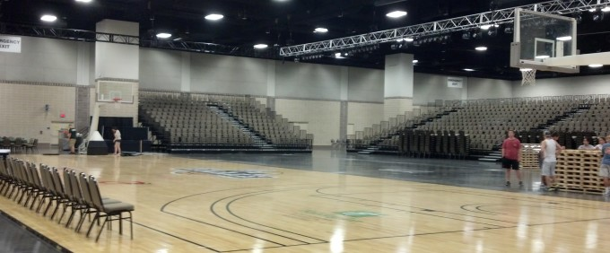Knoxville Convention Center is ready for tip-off!