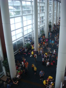 Full house at the Knoxville Convention Center.