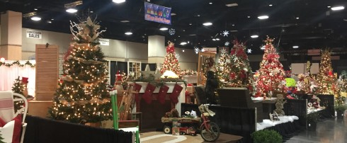 Convention Center makes its holiday transformation