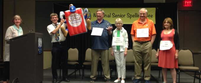 Senior spelling bee champ crowned in Knoxville